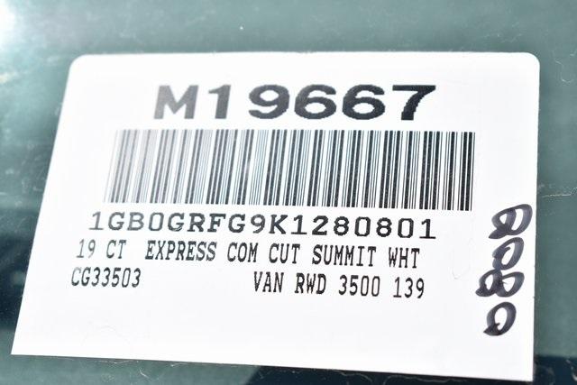 2019 Express 3500 4x2,  Knapheide KUV Plumber #M19667 - photo 3