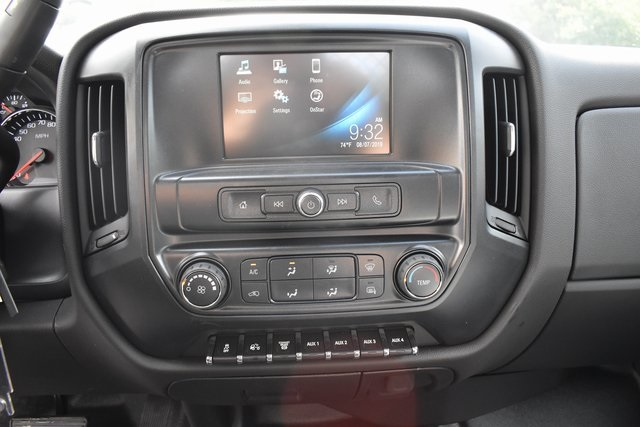 2019 Silverado Medium Duty Regular Cab DRW 4x2,  Harbor Black Boss Stake Bed Flat/Stake Bed #M19699 - photo 18