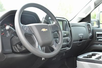 2019 Silverado Medium Duty Regular Cab DRW 4x2,  Harbor Black Boss Stake Bed Flat/Stake Bed #M19699 - photo 15