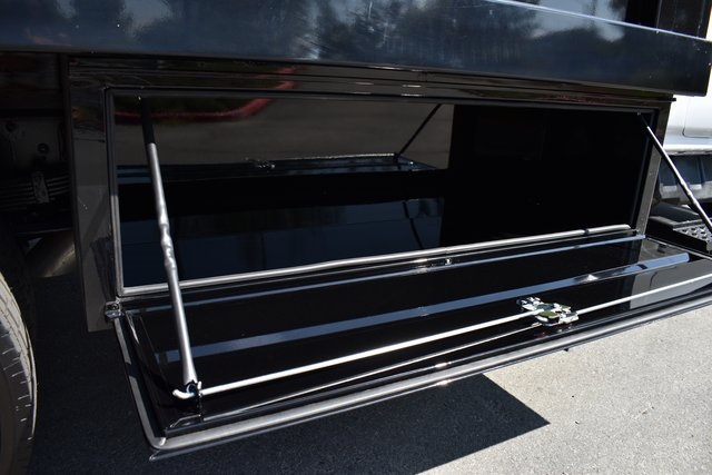 2019 Silverado Medium Duty Regular Cab DRW 4x2,  Harbor Black Boss Stake Bed Flat/Stake Bed #M19733 - photo 11