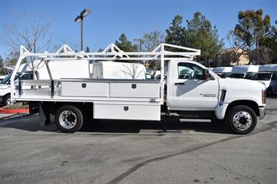 2019 Silverado 6500 Regular Cab DRW 4x2, Martin Contractor Body #M19737 - photo 7
