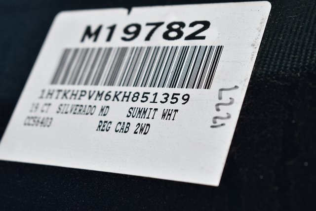 2019 Silverado 6500 Regular Cab DRW 4x2, Cab Chassis #M19782 - photo 3