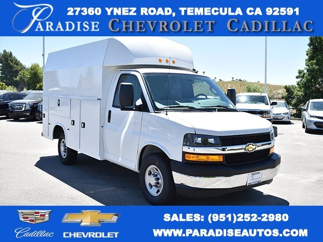 2019 Chevrolet Express 3500 4x2, Knapheide KUV Plumber #M19803 - photo 1