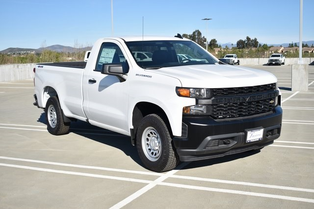 2019 Chevrolet Silverado 1500 Regular Cab 4x4, Pickup #M19846 - photo 1