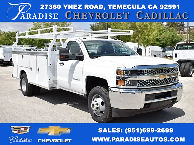 Single Cab Silverado For Sale >> 2019 Silverado 3500 Regular Cab Drw 4x2 Royal Service Body Utility Stock M19847