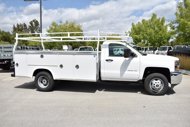 2019 Silverado 3500 Regular Cab DRW 4x2,  Royal Service Body Utility #M19847 - photo 10