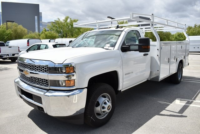 2019 Silverado 3500 Regular Cab DRW 4x2,  Royal Service Body Utility #M19847 - photo 6