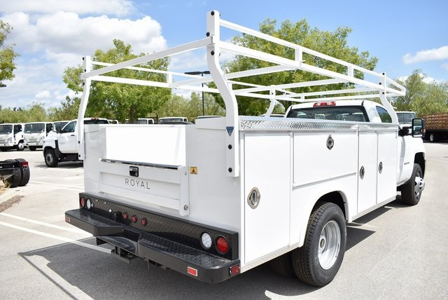 2019 Silverado 3500 Regular Cab DRW 4x2,  Royal Service Body Utility #M19847 - photo 2