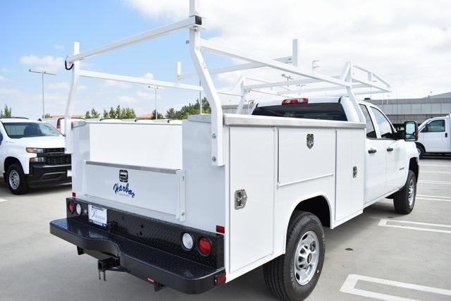 2019 Silverado 2500 Double Cab 4x2,  Harbor TradeMaster Utility #M19869 - photo 2