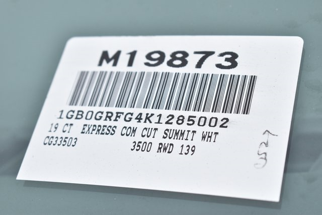 2019 Express 3500 4x2,  Knapheide KUV Plumber #M19873 - photo 3