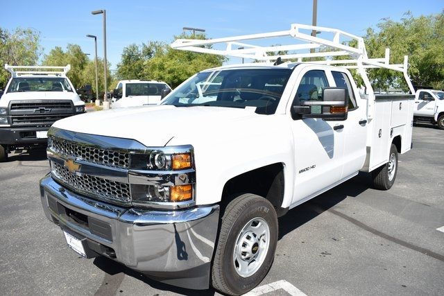 2019 Silverado 2500 Double Cab 4x2,  Harbor TradeMaster Utility #M19902 - photo 6