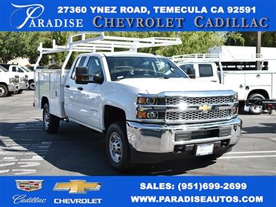 2019 Silverado 2500 Double Cab 4x2,  Harbor TradeMaster Utility #M19902 - photo 1