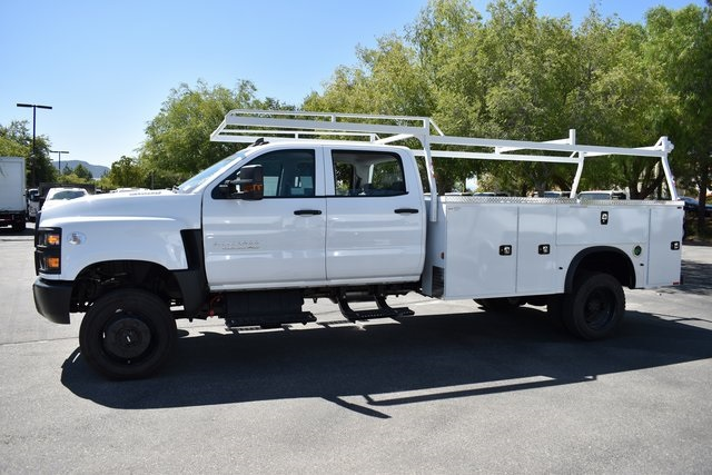 2019 Silverado Medium Duty Crew Cab DRW 4x4,  Knapheide Standard Service Body Utility #M19912 - photo 6