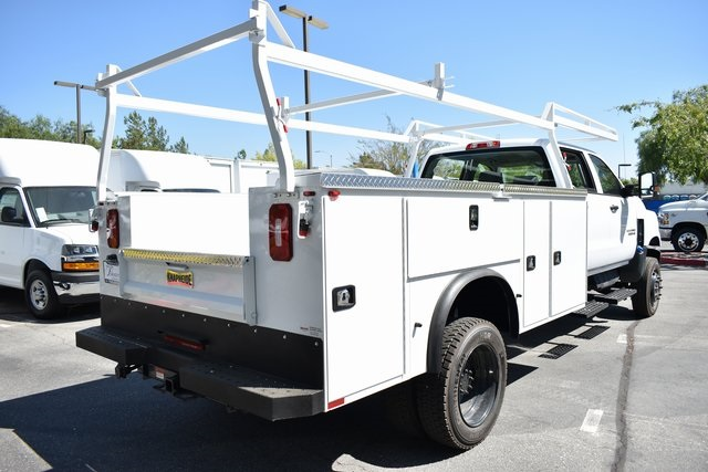2019 Silverado Medium Duty Crew Cab DRW 4x4,  Knapheide Standard Service Body Utility #M19912 - photo 2