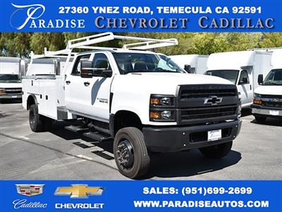 2019 Silverado Medium Duty Crew Cab DRW 4x4,  Knapheide Standard Service Body Utility #M19912 - photo 1