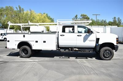 2019 Silverado Medium Duty Crew Cab DRW 4x4,  Knapheide Standard Service Body Utility #M19912 - photo 9