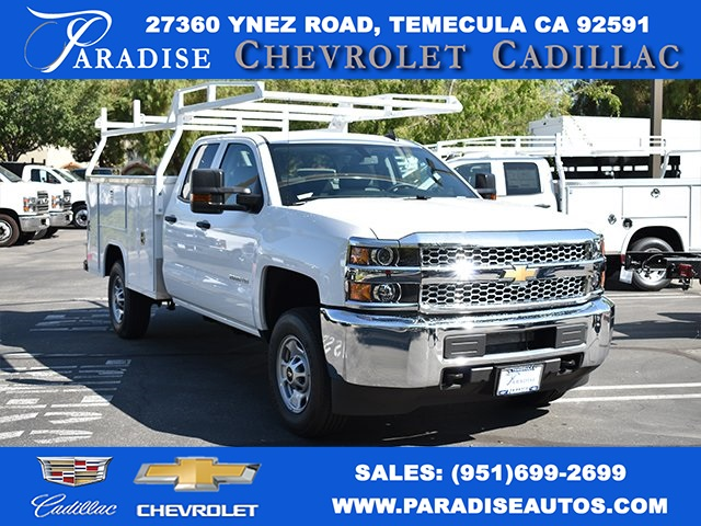 2019 Silverado 2500 Double Cab 4x2,  Harbor TradeMaster Utility #M19915 - photo 1
