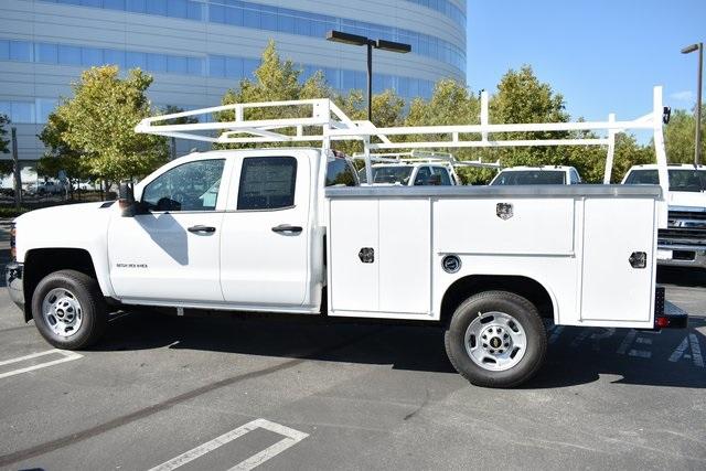 2019 Silverado 2500 Double Cab 4x2,  Harbor TradeMaster Utility #M19915 - photo 7