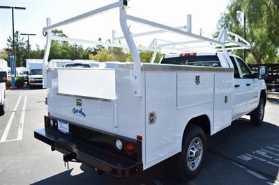 2019 Silverado 2500 Double Cab 4x2,  Harbor TradeMaster Utility #M19915 - photo 2