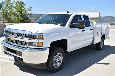 2019 Silverado 2500 Double Cab 4x2,  Harbor TradeMaster Utility #M19942 - photo 4