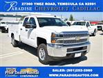 2019 Silverado 2500 Double Cab 4x2,  Harbor TradeMaster Utility #M19942 - photo 1