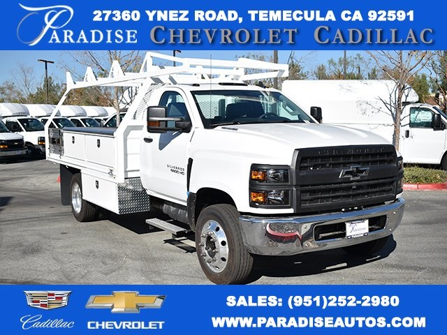 2019 Silverado 5500 Regular Cab DRW 4x2, Martin Contractor Body #M19953 - photo 1