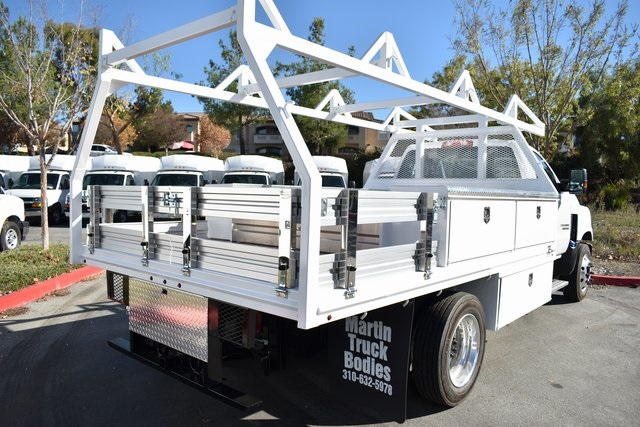 2019 Silverado 5500 Regular Cab DRW 4x2, Martin Contractor Body #M19953 - photo 2