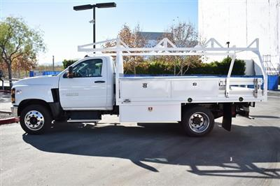 2019 Silverado 5500 Regular Cab DRW 4x2, Martin Contractor Body #M19953 - photo 7