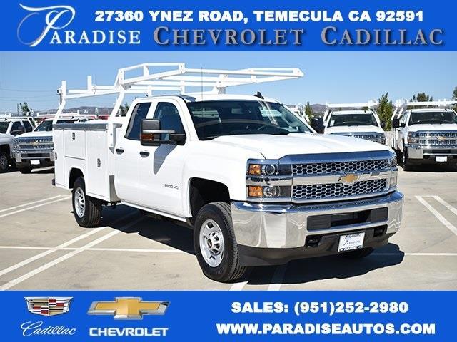 2019 Chevrolet Silverado 2500 Double Cab 4x2, Harbor TradeMaster Utility #M19966 - photo 1