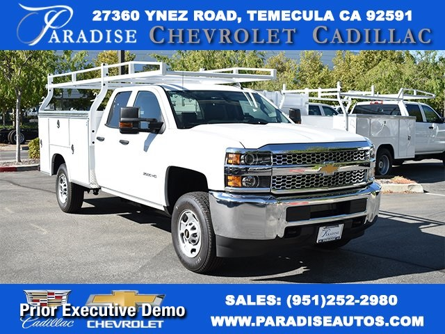 2019 Chevrolet Silverado 2500 Double Cab 4x2, Royal Service Body #M19967 - photo 1