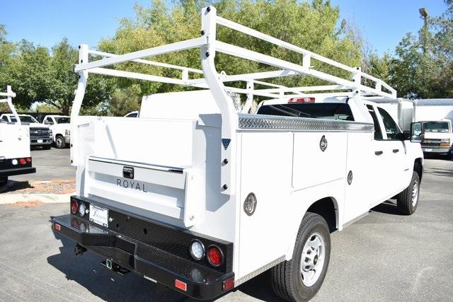 2019 Silverado 2500 Double Cab 4x2, Royal Service Body Utility #M19967 - photo 2