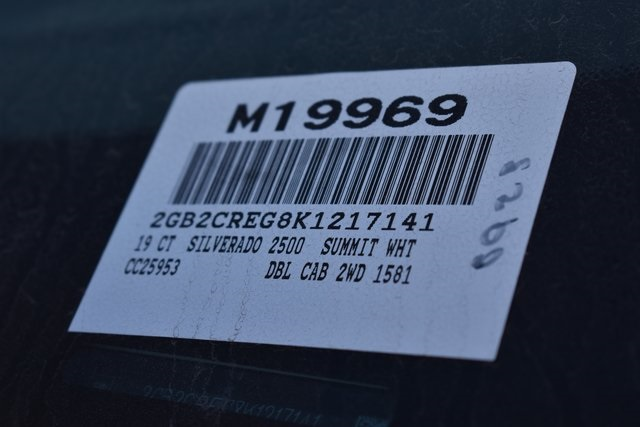 2019 Silverado 2500 Double Cab 4x2, Harbor TradeMaster Utility #M19969 - photo 3