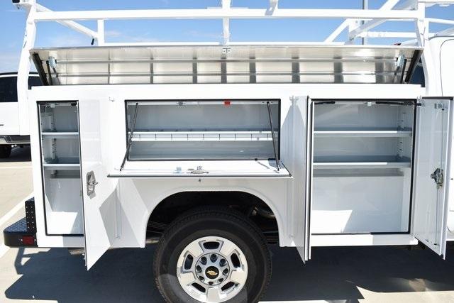2019 Silverado 2500 Double Cab 4x2,  Harbor TradeMaster Utility #M19977 - photo 9