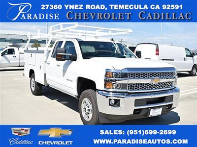 2019 Silverado 2500 Double Cab 4x2,  Harbor TradeMaster Utility #M19977 - photo 1