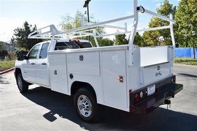 2019 Silverado 2500 Double Cab 4x2,  Harbor TradeMaster Utility #M19987 - photo 6