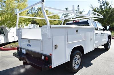 2019 Silverado 2500 Double Cab 4x2,  Harbor TradeMaster Utility #M19987 - photo 2