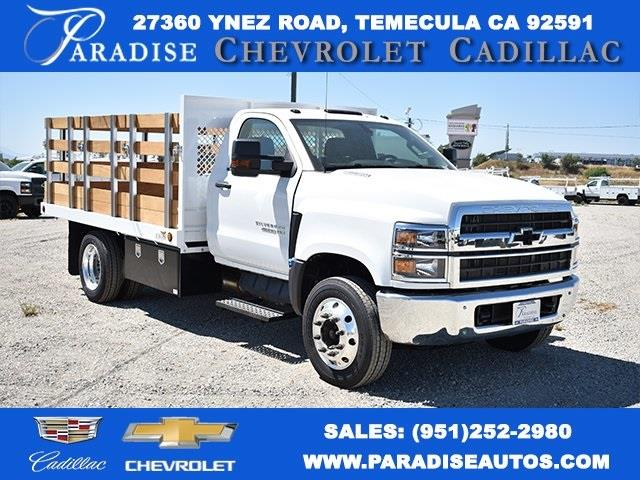 2020 Chevrolet Silverado 4500 Regular Cab DRW 4x2, Eagle Truck Body & Equipment Flat/Stake Bed #M20067 - photo 1
