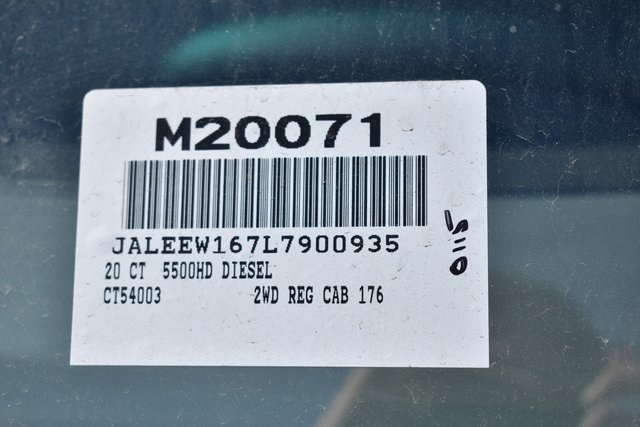 2020 LCF 5500HD Regular Cab 4x2, Cab Chassis #M20071 - photo 3