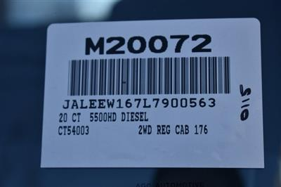 2020 LCF 5500HD Regular Cab 4x2, Cab Chassis #M20072 - photo 3
