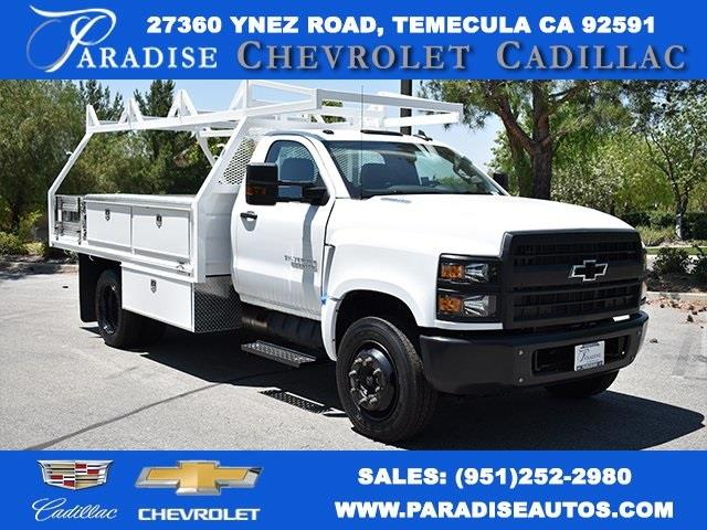 2020 Chevrolet Silverado 5500 Regular Cab DRW 4x2, Martin Contractor Body #M20078 - photo 1
