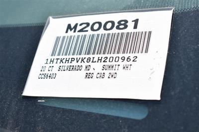 2020 Chevrolet Silverado 5500 Regular Cab DRW 4x2, Martin Flat/Stake Bed #M20081 - photo 3