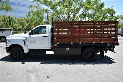 2020 Chevrolet Silverado 5500 Regular Cab DRW 4x2, Martin Flat/Stake Bed #M20081 - photo 6