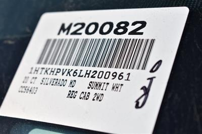 2020 Chevrolet Silverado 5500 Regular Cab DRW 4x2, Cab Chassis #M20082 - photo 3