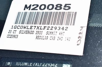 2020 Chevrolet Silverado 2500 Regular Cab 4x2, Knapheide Steel Service Body Utility #M20085 - photo 4