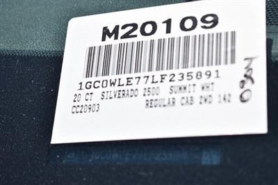 2020 Chevrolet Silverado 2500 Regular Cab 4x2, Knapheide Steel Service Body Utility #M20109 - photo 7