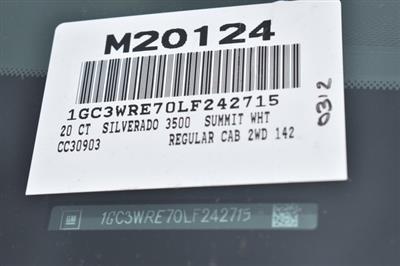 2020 Chevrolet Silverado 3500 Regular Cab 4x2, Royal Service Body Utility #M20124 - photo 6
