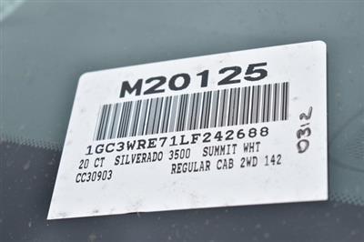 2020 Chevrolet Silverado 3500 Regular Cab 4x2, Royal Service Body Utility #M20125 - photo 6