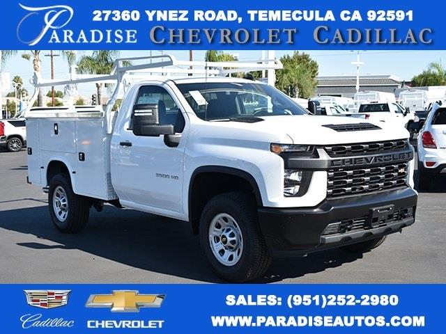 2020 Chevrolet Silverado 3500 Regular Cab 4x2, Knapheide Steel Service Body Utility #M20127 - photo 1
