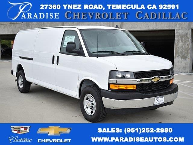 2020 Chevrolet Express 3500 4x2, Adrian Steel Upfitted Cargo Van #M20156 - photo 1