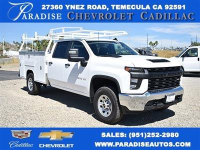 2020 Chevrolet Silverado 3500 Crew Cab 4x2, Harbor TradeMaster Utility #M20180 - photo 1